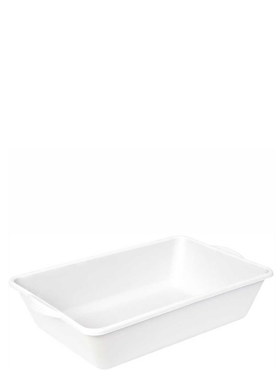 Caixa Plástica Branca de 20 Litros Ecoplastic Ref. 268