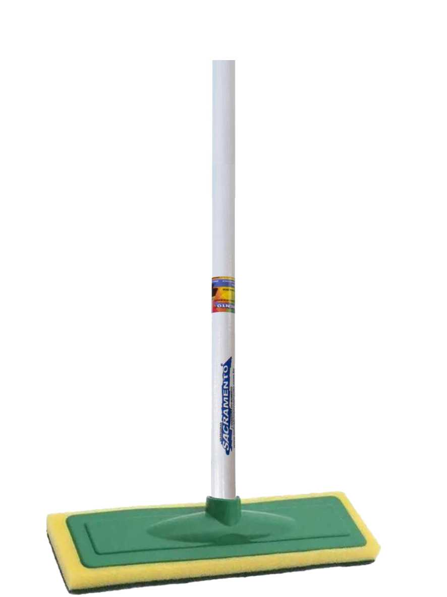 Limpa Azulejo Base Plástica  26cm com Cabo Ref. 1443