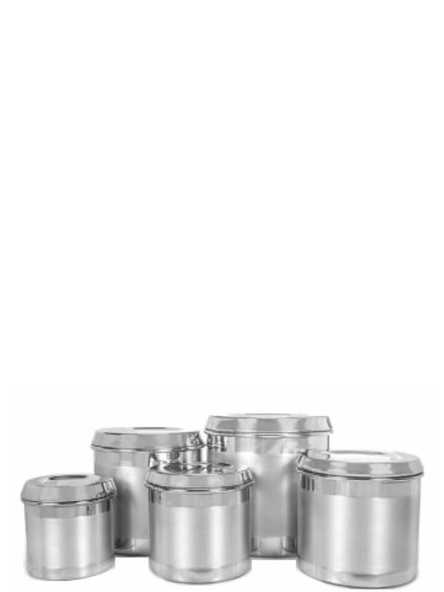 Jogo de Mantimento Alumínio 5 peças Analeni Ref. 7375