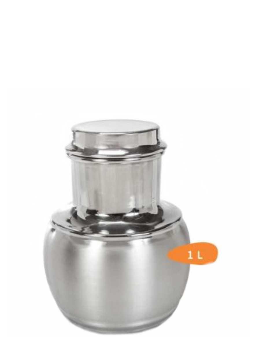 Moringa de Alumínio Escovada 1,2 Litros Analeni Ref. 7376