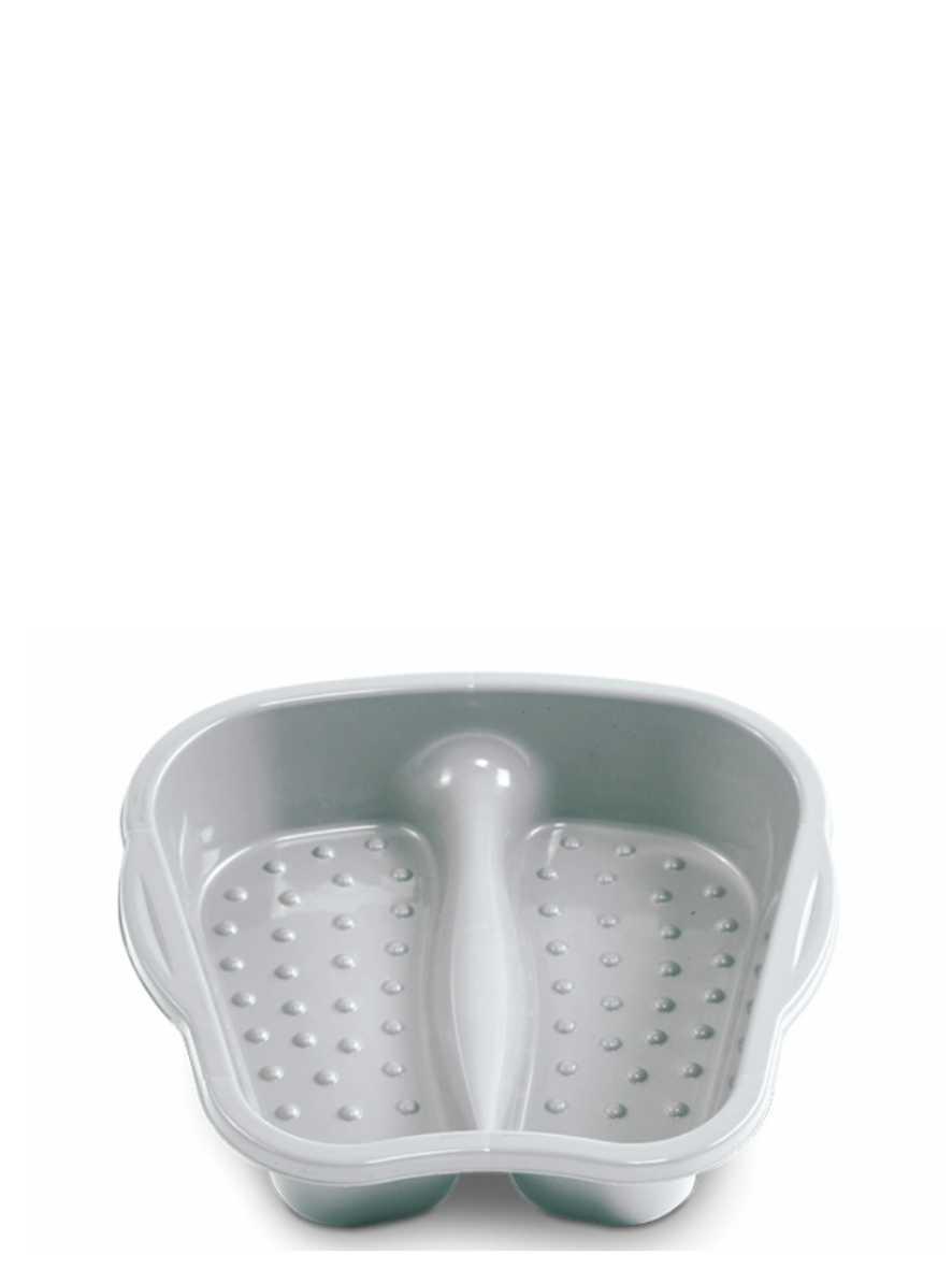 Bacia Pedicure Prata Arqplast Ref. 4023